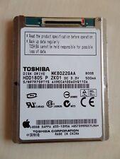 "Toshiba MK8022GAA 80GB ZIF 4200rpm 1.8"" Festplatte HDD iPod #1"