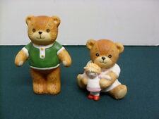 Set Of 2 Enesco Lucy & Me Bears 1980's