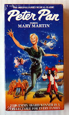 Peter Pan ~ New VHS Movie ~ Rare OOP Mary Martin Musical ~ Cyril Ritchard