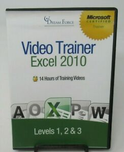 KIRT KERSHAW - EXCEL 2010: VIDEO TRAINER LEVELS 1, 2 & 3 PC DVD-ROM, DREAM FORCE