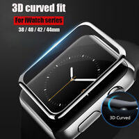 For Apple Watch 40/44/42/38mm - FULL COVER 3D Tempered Glass Screen Protector US