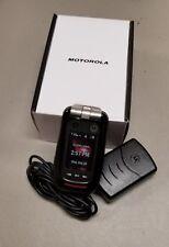 Brand New In Retail Box Motorola Barrage V860 Verizon Rugged Camera Flip Phone