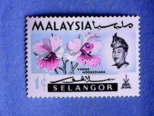 Selangor. QE2 1965 1c Multicoloured. SG136. Wmk Ww13. P14½. MH.