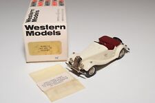 I WESTERN MODELS WM WMS 12 MG TF MIDGET 1953 CREAM MINT BOXED