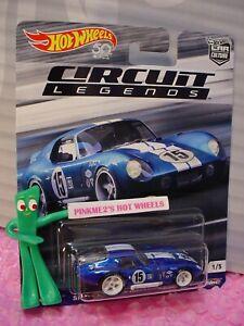 Circuit Legends SHELBY COBRA DAYTONA COUPE #1 ☆blue ☆2018 Hot Wheels Car Culture