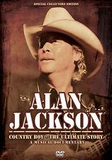 ALAN JACKSON New Sealed 2017 LIVE CONCERT PERFORMANCES & MORE DVD