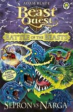 Beast Quest: Battle of the Beasts 3: Sepron vs Narga: By Blade, Adam