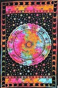 Indian Mandala Tapestry Wall Hanging Bohemian Hippie Bedspread  Home Decor Art