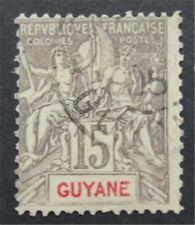 Nystamps Guyana Stempel # 40 gebrauchte $110 s17x2166