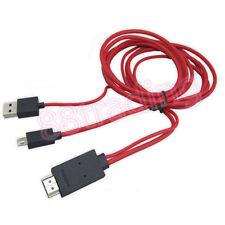 Micro Usb Mhl A Hdmi Hdtv Adaptador De Cable Para Samsung Galaxy teléfono