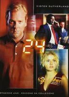 24 Stagione 01 DVD Nuovo Edizione da Collezione Kiefer Sutherland 6 Dischi N