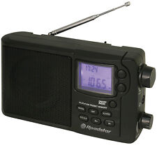 Roadstar TRA-2425PSW World Receiver Radio Alarm Clock  10-Bands SW