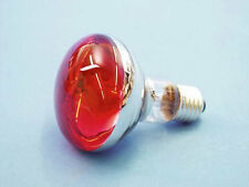 ✔ rojos reflector de lámpara 60w/e27/r80 centes-pera 60 vatios rojo-es musikato 009210360u
