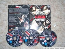 WWE Wrestling 3 DVD Set The Greatest Steel Cage Matches of all time WCW AWA WWF