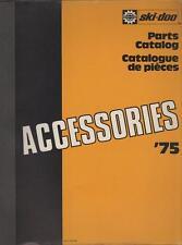 1975 Ski-Doo Accessories Snowmobile Parts Manual