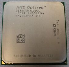 AMD Dual-Core Opteron 875 HE - OSK875FAA6CC 2.2  90 RTB DAYS WARRANTY