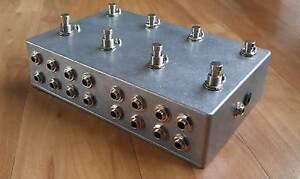 Programmable 8 Looper - Loop Pedal - True Bypass - Guitar Effects - Aluminium