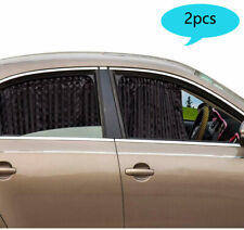 2Pcs Magnetic Car Sunshade fit Front Rear, Side Window Curtain Sun shade
