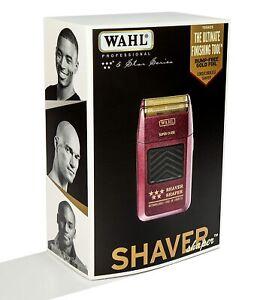 WAHL 5-Star Shaver / Shaper Cord / Cordless Bump Free Shaver