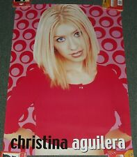 "1999 Teenager Poster *Christina Aguilera* 24X34"" Wh23 Great Cond! M"