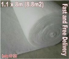 8.8 m2 tessuto in pile Geotessile MEMBRANA perdita per infiltrazione TERRAM 1.1 x 8m-con Rapido e gratuito