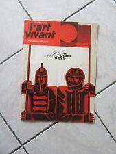 L'ART VIVANT AVANT GARDE URSS RUSSE RUSSIE N° 23 DE SEPTEMBRE 1971