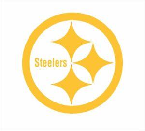 Pittsburgh Steelers Football Vinyl Decal Sticker for NFL Car Truck Window Yeti R