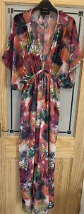 RIVER ISLAND. Ladies Summer Maxi Dress. Size 16.