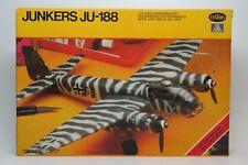 1/72 Testors JUNKERS JU-188 Plane Kit NEW Sealed Bags FREE SHIP