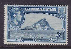 GIBRALTAR 1942 MINT H SC #111a KGVI PERF 14 CAT $140