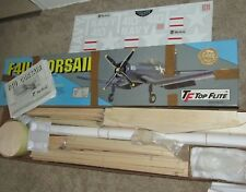 Top Flite F4U Corsair .60 Gold Edition RC Airplane Kit Preowned-Stabilizer Built
