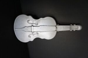 "11.5 "" Aluminum Violin with Lid Dust Bin Box Cleveland Ohio"