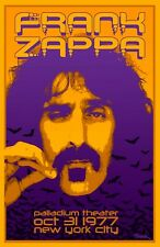 Frank Zappa 1977 Tour Poster