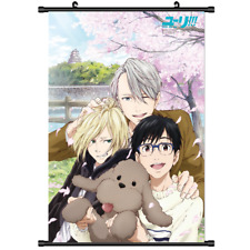 Hot Anime Yuri On Ice Victor Wall Poster Scroll Home Decor Cosplay 2975