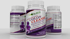 X1 Super COLON CLEANSE 60 Pills Best Detox Cleanser All Natural Weight Loss