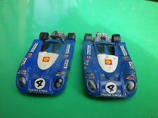 NOREV JET CAR lot de 2 MATRA SIMCA MS 670 état d'usage, à restaurer voir photos.