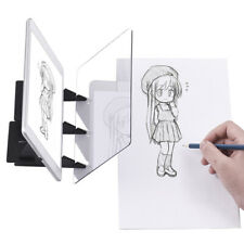 Optical Tracing Draw Board Sketch Mirror Reflection Copy Pad Craft Painting Art