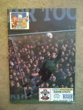 Southampton v Oldham Athletic - Barclays League Division 1 1991/92 Programme