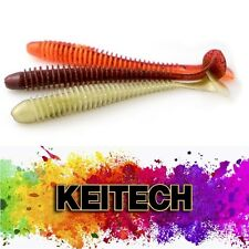 KEITECH SWING IMPACT Japan Jig Soft Bait Scented Salty Aroma Lure BASS WALLEYE
