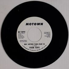 FOUR TOPS: Mac Arthur Park Part I & II USA MOTOWN DJ Soul 45 NM-