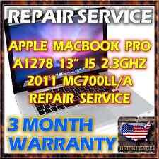 MACBOOK PRO 8,1 A1278 13 i5 820-2936 MC700LL/A 2011 LAPTOP LOGIC BOARD REPAIR