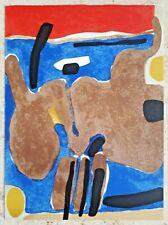 Maurice ESTEVE (1904-2001) Original MOURLOT Lithographie 1964 : Composition