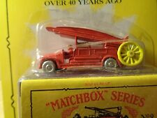 MATCHBOX  VINTAGE RETRO DENNIS FIRE ENGINE (NEW IN PACKAGE)  1:64 SCALE  5-10-15