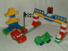 Lego Duplo 5819 Disney Cars Tokyo Racing 100% completo pero sin caja original.