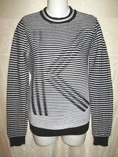 KENZO Black & White K Optical Illusion Sweater S $300