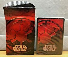 STAR WARS POKER SIZE PLAYING CARDS, BRAND NEW & SEALED RED DECK