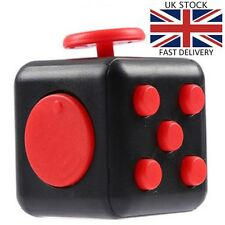 FIDGET CUBE Cool Novelty Cheap Gadget FUNGift for Him Men Boys Toy Kid Girl FR11