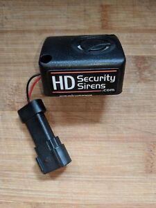 HD-SECURITY SIREN I (110dB AFTERMARKET HARLEY DAVIDSON SMART SIREN) READ FULL