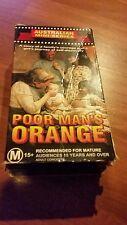 POOR MAN'S ORANGE. TAPE 1 & 2  AUSTRALIAN MINI SERIES VHS VIDEO