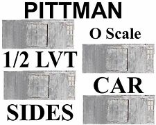 DecLot708 Pittman O Ga Die Cast Trolley 1/2 Lvt Sides Brass Screws-No Ca Sales